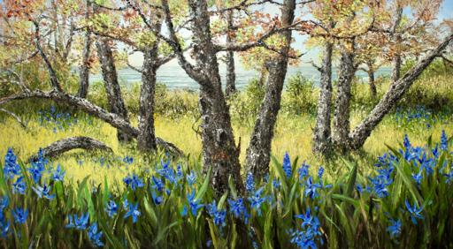 Camas Lily and Garry Oak